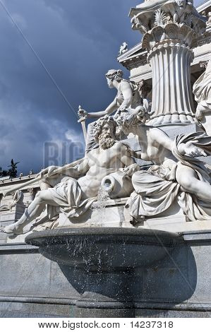 The Athene Fountain, Vienna