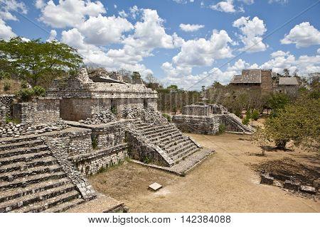 Ancient Maya city of Ek Balam, Mexico