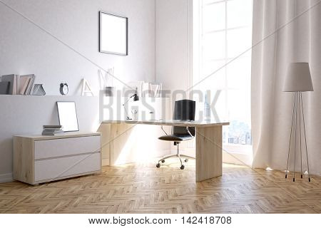 Businessman's Room At Home