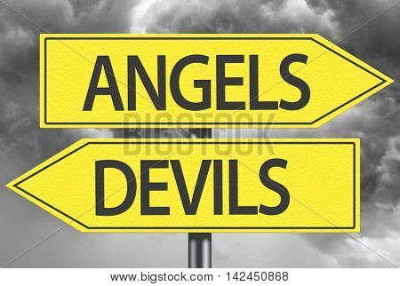 Angels x Devils yellow