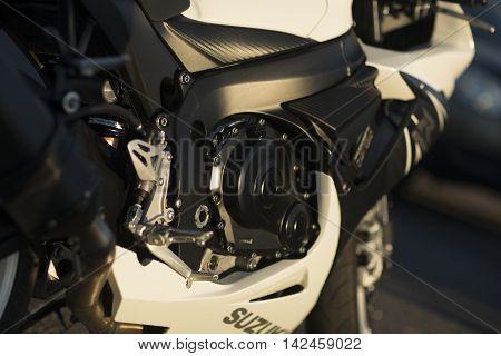 Suzuki Gsx-r600 Motorcycle