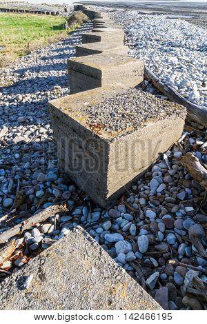 Anti Tank Cubes, Stone World War Two Invasion Defences