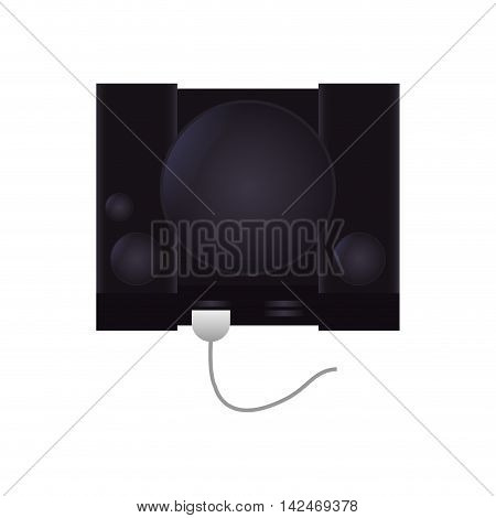 game machine technology gadget icon. Isolated and flat vecctor illustration