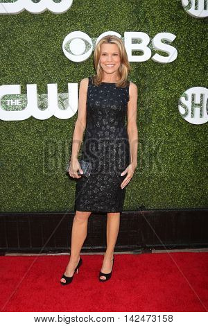 LOS ANGELES - AUG 10:  Vanna White at the CBS, CW, Showtime Summer 2016 TCA Party at the Pacific Design Center on August 10, 2016 in West Hollywood, CA