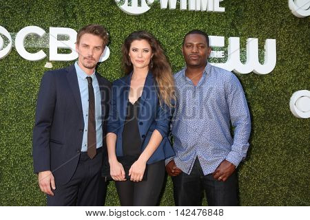 LOS ANGELES - AUG 10:  Riley B Smith, Peyton List, Mekhi Phifer at the CBS, CW, Showtime Summer 2016 TCA Party at the Pacific Design Center on August 10, 2016 in West Hollywood, CA