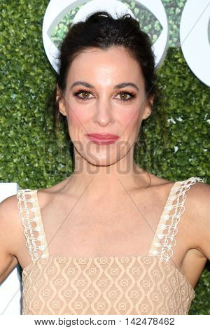 LOS ANGELES - AUG 10:  Lindsay Sloane at the CBS, CW, Showtime Summer 2016 TCA Party at the Pacific Design Center on August 10, 2016 in West Hollywood, CA