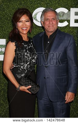 LOS ANGELES - AUG 10:  Julie Chen, Les Moonves at the CBS, CW, Showtime Summer 2016 TCA Party at the Pacific Design Center on August 10, 2016 in West Hollywood, CA