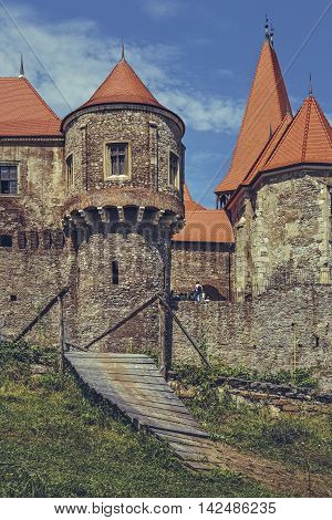 The Drummers Tower, Corvin Castle, Romania