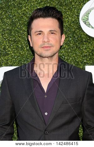 LOS ANGELES - AUG 10:  Freddy Rodriguez at the CBS, CW, Showtime Summer 2016 TCA Party at the Pacific Design Center on August 10, 2016 in West Hollywood, CA