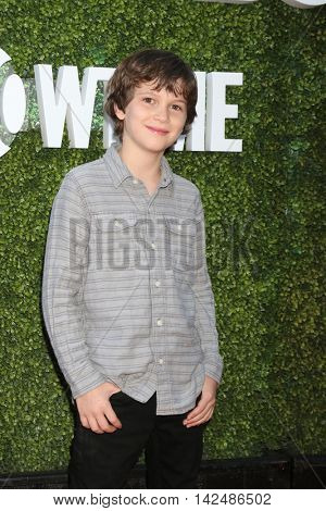 LOS ANGELES - AUG 10:  Gabriel Bateman at the CBS, CW, Showtime Summer 2016 TCA Party at the Pacific Design Center on August 10, 2016 in West Hollywood, CA