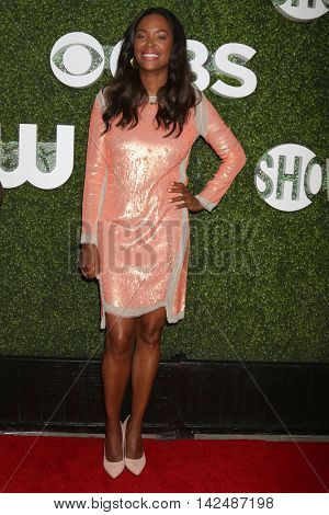 LOS ANGELES - AUG 10:  Aisha Tyler at the CBS, CW, Showtime Summer 2016 TCA Party at the Pacific Design Center on August 10, 2016 in West Hollywood, CA