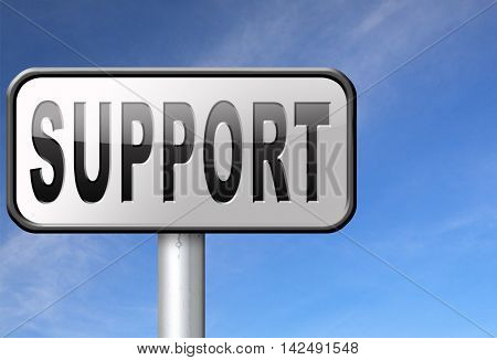 support desk icon or help desk technical assitance and customer service 3D illustration
