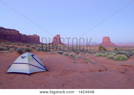 Camping In Monument Valley
