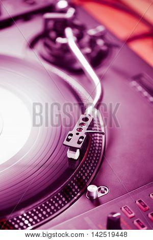 Professional Turntable Audio Vinyl Record Music Player