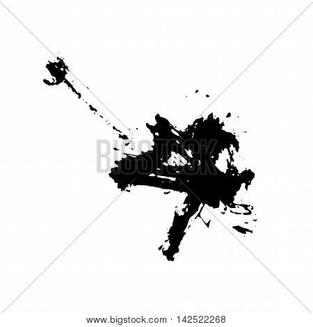 Grunge Brush Stroke . Vector Brush Stroke . Distressed Brush Stroke . Black Brush Stroke . Modern Textured Brush Stroke . Dry Brush Stroke .