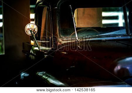 picture of Vintage old truck, on outdoor