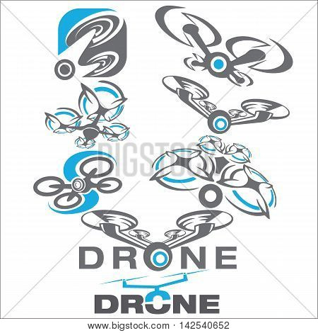 drone concept designed in a simple way so it can be use for multiple proposes