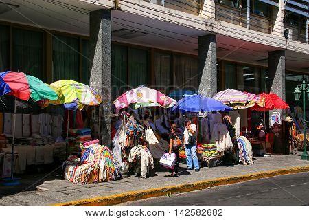 Asuncion, Paraguay - December 26: Street Market Mercado Cuatro On December 26, 2014 In Asuncion, Par