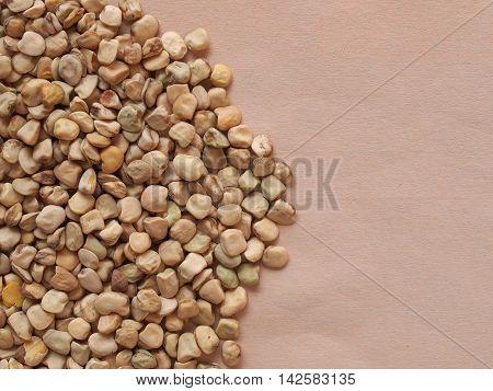 Grass Pea Aka Cicerchia Vegetables