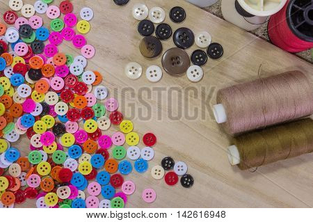 The reel studs color buttons plastic  for background