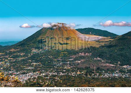 Mahawu Volcano, Sulawesi, Indonesia