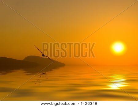 Dawn Above The Sea