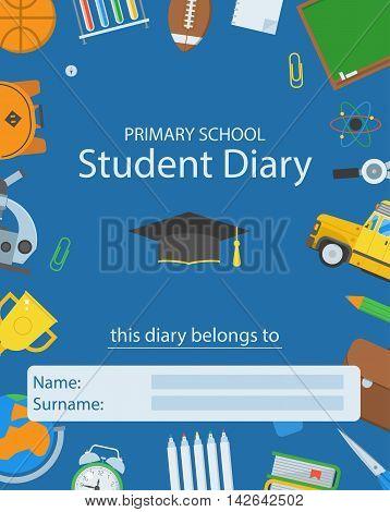 Primary School Diary Cover