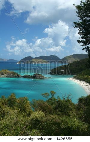 Overlook Of Trunk Bay, St. John