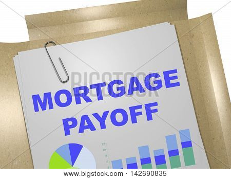 Mortgage Payoff Concept