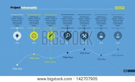 Combo diagram with options and line chart. Element of presentation, chart, diagram. Concept for business template, infographics, annual report. Can be used for topics like marketing, finance, analysis
