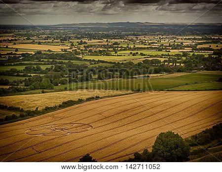 Crop Circles - White Horse - Westbury