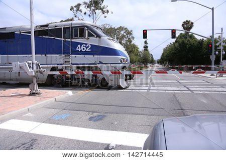 Fast Passenger Commuter Train