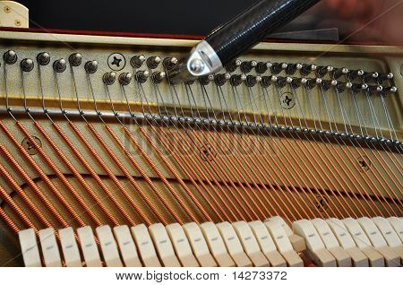 Adjusting The Strings Tension