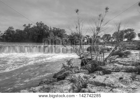 Grand Falls located in Joplin Missouri USA