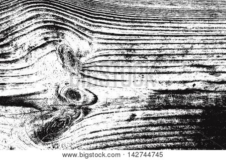 Distress Wooden Texture. Grunge overlay wood background. EPs10 vector.