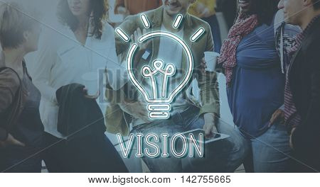 Business Vision Creativity Success Strategy Concept