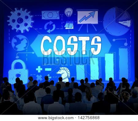 Costs Finance Business Banking Financial Concept