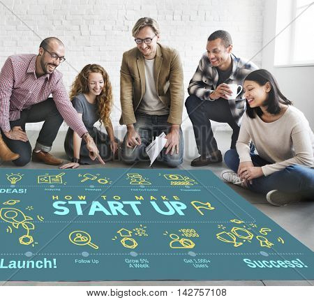 Business Strategy Planning Corporation Solution Concept