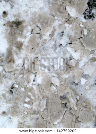 snow bank grunge grim texture bump map