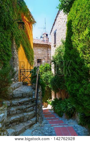 Mountain Village Eze At The Cote Dazur, France