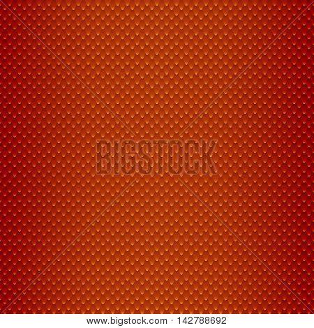 Red Snake Skin Scales Seamless Pattern