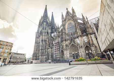 Gothic Cathedral In Kohln, Germany