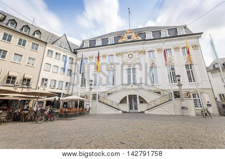 City Hall Of Bonn, Western Part Of Germany