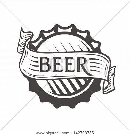 Beer bottle cap. Beer bottle cap icon. Beer bottle cap symbol. Beer bottle cap sign. Beer bottle cap logo.