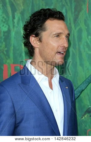 LOS ANGELES - AUG 14:  Matthew McConaughey at the