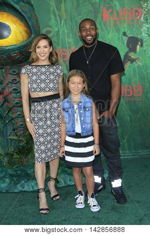 LOS ANGELES - AUG 14: Allison Holker, Wesley Fowler, Stephen Boss at the premiere of Focus Features' 'Kubo and the Two Strings' at AMC Universal City Walk on August 14, 2016 in Los Angeles, California