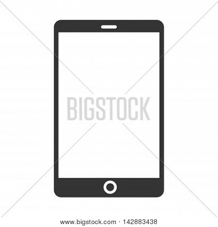 tablet device screen ipad touch technology computer vector  isolated and flat illustration