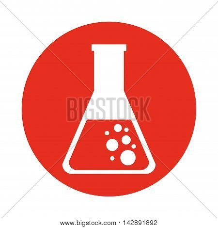 tube test glass icon vector illustration design