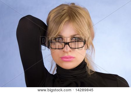 The Seductive Glamour Girl