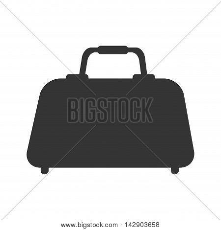 hand bag case knapsack luggage baggage travel  vector  illustration isolated